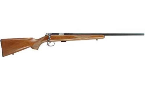 "CZ 452 American Bolt Action 22LR, 22.5"", 5rd, Blued, Walnut Stock"