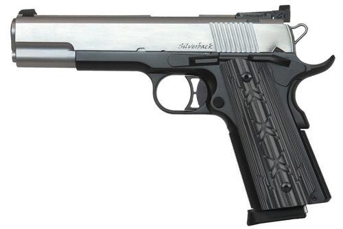 "Dan Wesson Silverback 10mm, 5"" Barrel, G10 Grip, Black Hard Coat, 9rd Mag"
