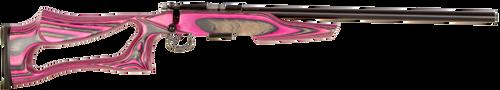 CZ 455 Varmint Evolution .17 Hmr 5 Rd Mag  Gloss Pink Laminate