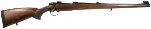 CZ 550FS 6.5x55 Swede Bolt 20.47,  Walnut Mannlicher Stk Blued,  5 rd