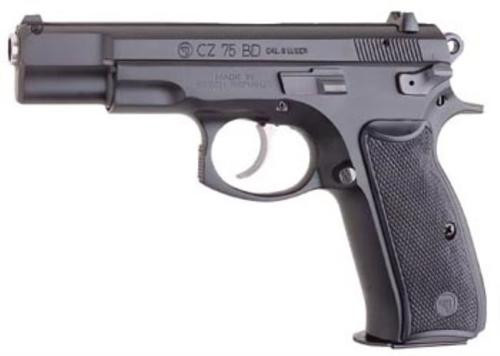 CZ 75 BD 9mm Black Polycoat Decocker 16rd Mags
