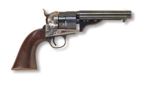 Cimarron 860 Richards Mason Model .38 Special 5.5 Inch Barrel Standard Blue Finish Walnut Grip