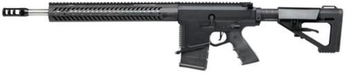 "DoubleStar Star 10-B Rifle .308 Winchester 18"" Threaded Heavy Barrel 5/8x24 TPI Bullseye Muzzle Brake Hammer AR Stock Black 20rd"