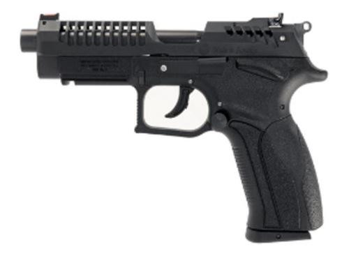 "Grand Power K22 X-Trim Single/Double 22 LR 5"" Threaded Barrel Black Polymer Grip, 10rd Mag"