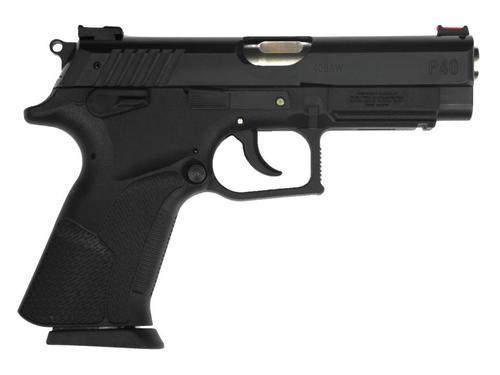"Grand Power P40 SA/DA 40 S&W 4.25"" Barrel, Black Synthetic Grip Black, 14rd"