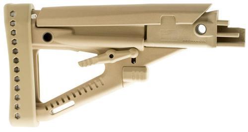 ProMag Archangel OPFOR AK-47/AK-74 Buttstock, Polymer, Desert Tan