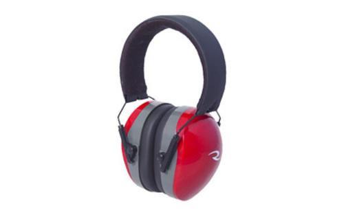 Radians Terminator Folding Ear Muffs, Red