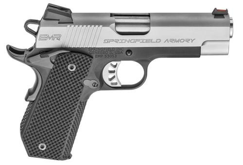 "Springfield EMP Lightweight Champion, 9mm, 4"" Barrel, Concealed Carry Contour 3- 9rd Mags"