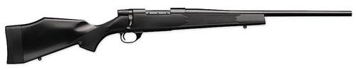 """Weatherby Vanguard Synthetic Compact, Bolt Action, 6.5 Creedmoor, 20"""" Barrel, Black, Synthetic Stock, 4Rd"""