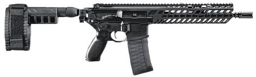 "Sig MCX AR-15 Pistol, 5.56 Nato/223, 11.5"" Barrel, Pistol Stablizing Brace, Black, 30rd Mag"