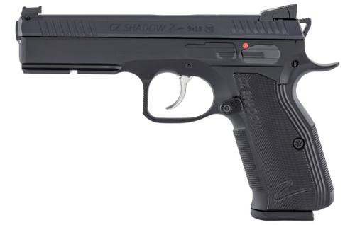 CZ 75 Shadow 2 9mm, DA/SA, Full Size, Black