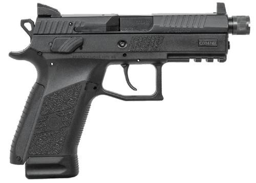 "CZ P-07 Suppressor Ready, 9mm, 4.3"", Black Nitride, 17rds"