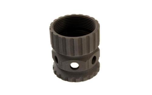 2A ArmamentBarrel Nut, Black, Aluminum