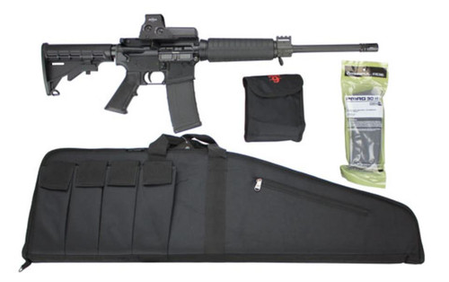 Armalite AR-15 Rifle Package, EOTech 512 Sight, Case & Mags
