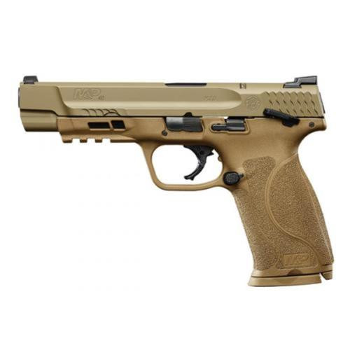"""Smith & Wesson M&P M2.0 40S&W, 5"""",, , Flat Dark Earth, Thumb Safety,  15 rd"""