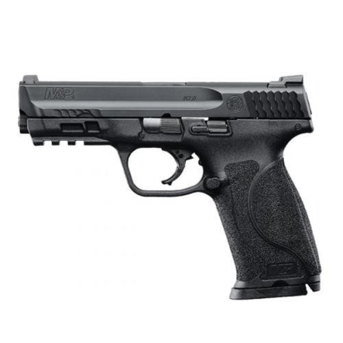 "Smith & Wesson M&P M2.0 9mm, 4.25"" Barrel, Black, Interchangeable Grips, 17rd"