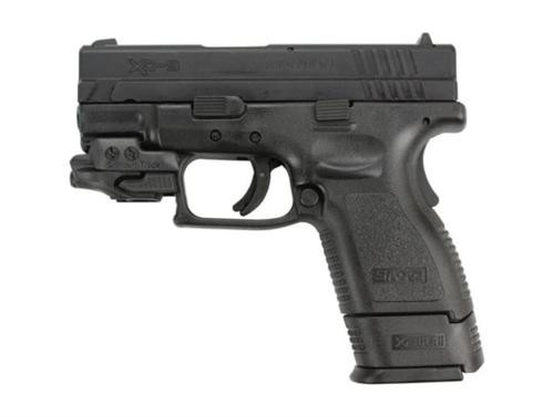 """Springfield XD 9MM, Crimson Trace laser, 3"""", 2 10rd mags"""