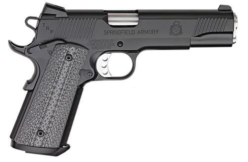 """Springfield 1911, 45 ACP, 5"""", Black/Gray G10 Grips, CA Approved, 7rd"""