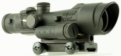 Trijicon ACOG, 3.5x, 35mm Obj, 30mm-35mm Tube, Black, Crosshair Reticle