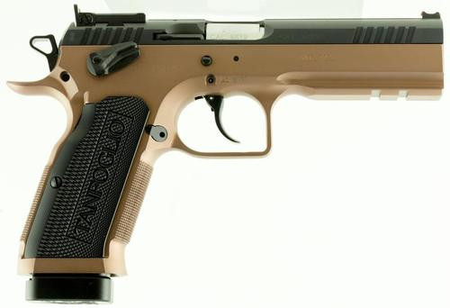 "EAA Witness 9mm, 4.5"", Aluminum Grips, Bronze Finish, 17rds"