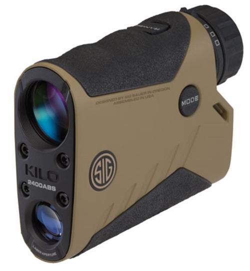 Sig Kilo2400ABS Applied Ballistics System Laser Range Finding Monocular, 7X25mm Flat Dark Earth