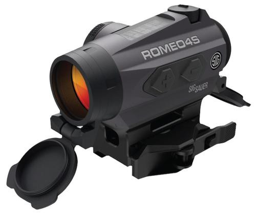 Sig Romeo 4S Red Dot Sight, 1x 20mm Obj, 1 MOA, Black