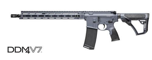 "Daniel Defense DDM4 V7, .223/5.56mm, 16"", Tornado Grey, 30rd"