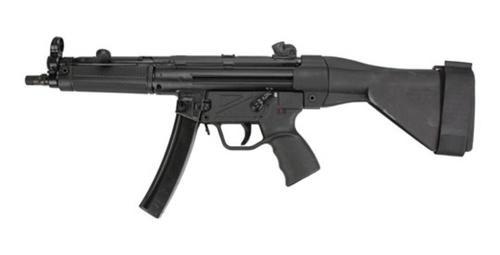 "Zenith MKE Z-5RS HK MP5 9mm 9"" Barrel, SB Tactical Brace 30rd Mag"