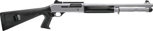 Benelli M4 H2O Titanium Cerakote Pistol Grip Ghost-Ring Sight, Rd 12 Ga,  5 rd