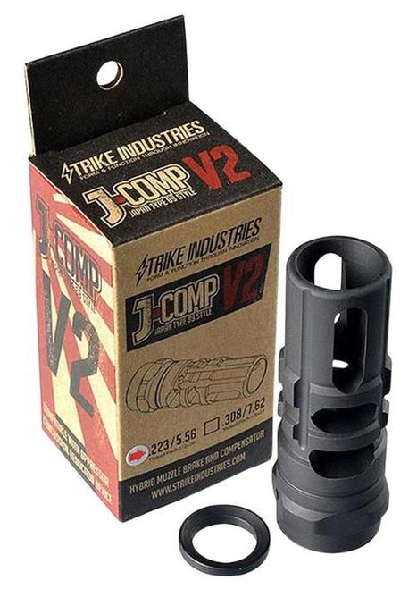 Strike JCOMP Gen2, Compensator, 223 Rem/556NATO, Black, 1/2X28