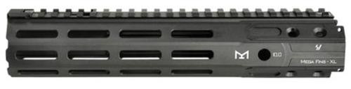 "Strike Mega Fins AR-15 Handguard, 6061-T6 Aluminum, Black, 10"""