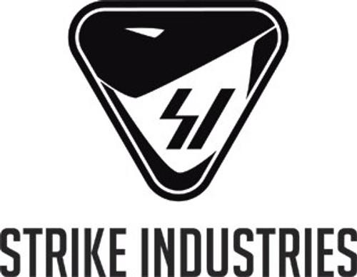 """Strike Strike Mega Fins AR-15 Handguard Rail, 6061-T6 Aluminum, Black, 12"""" M-LOK"""