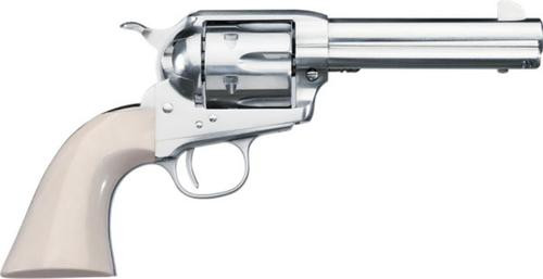"Uberti 1877 Short Stroke SASS PRO Nickel .45 Colt, 4 3/4"" Barrel Full Nickel Plated Steel"
