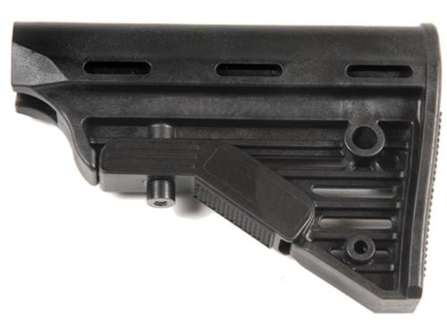 Blackhawk Knoxx Replacement Adjustable Carbine Rifle Buttstock AR/M4 Military Size Tube Black