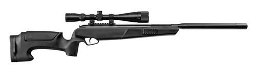 Stoeger A-Tac S2 Suppressed Air Rifle, .177 Cal, 1,200 FPS, Black Synthetic, 3-9 x 40 Scope