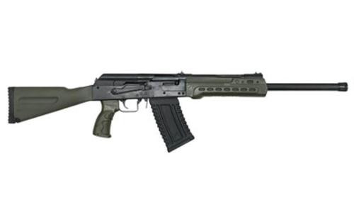 "Kalashnikov KS-12 12 Ga, 3"" Chamber, 18"" Barrel, Fixed Stock, 5rd, OD Green"
