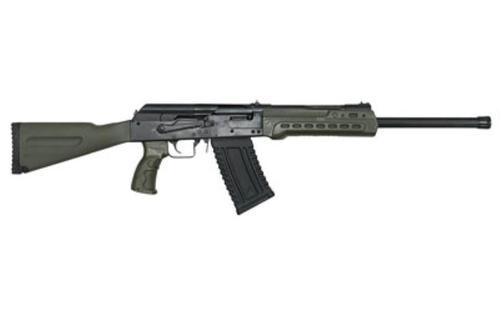 """Kalashnikov KS-12 12 Ga, 3"""" Chamber, 18"""" Barrel, Fixed Stock, 5rd, OD Green"""