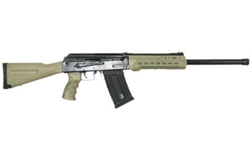 "Kalashnikov KS-12 12 Ga, 3"" Chamber, 18"" Barrel, Fixed Stock, Flat Dark Earth, 5rd"