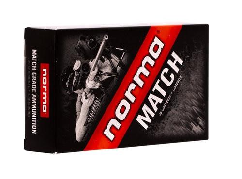 Norma 6.5 Creedmoor Match Ammo 130gr Hybrid Target 20rd Box