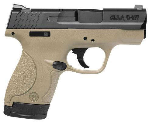 "Smith & Wesson M&P Shield 9mm 3"" Barrel Flat Dark Earth 7rd & 8rd Mag"