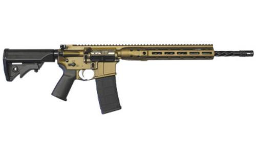 "LWRC DI IC 5.56/223 AR-15 Burnt Bronze 16"" Barrel M-LOK Rail 30rd Mag"