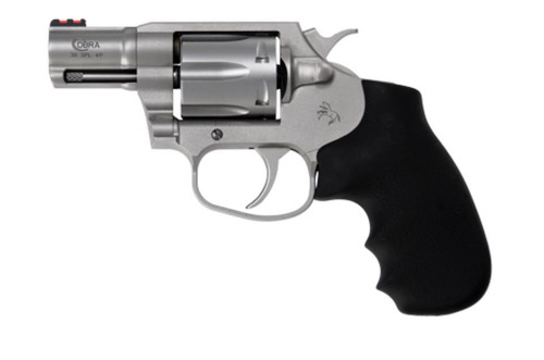 "Colt Cobra 38 Special+P Double Action 2"" Barrel Hogue Overmolded Grip 6rd"