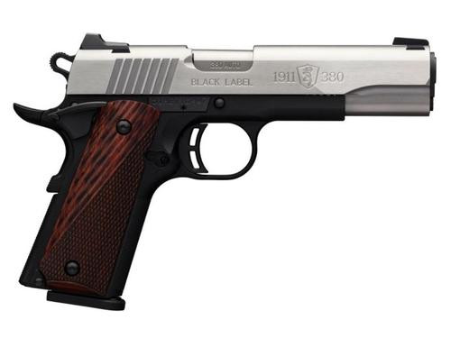 Browning 1911-380 Limited Production Medallion 380acp Ss, ,  8 rd