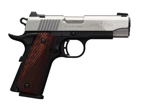 Browning 1911-380 Limited Production Medaliion Compact 380acp Nite Sites