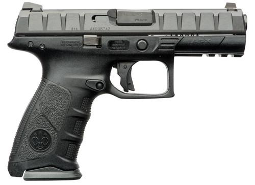 """Beretta APX Striker-Fired 9mm, 4.25"""" Barrel, Polymer, 3-Dot Sights, Matte Blued, 17rd"""