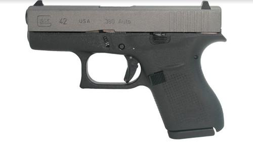Glock G42 Desert Sand Cerakote Finish 6+1 .380 ACP