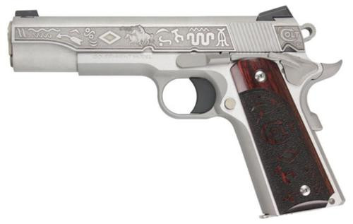 "Colt 1911 Government ""The Last Cowboy"" 9mm, 5"", Stainless, 1 of 300, 8rd"