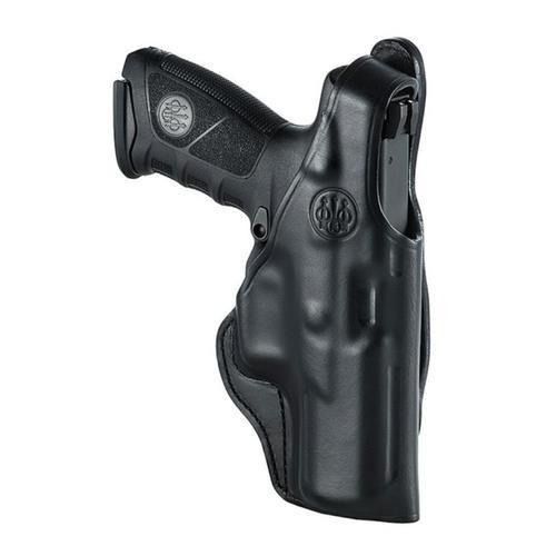 Beretta APX Leather Hip Holster, Mod 4, RH, Black