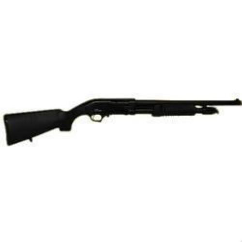 "Iver Johnson 12 Ga, 18"", 5rd, Polymer Stock, Blued"
