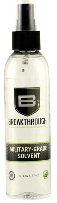 Breakthrough Military Grade Solvent 6oz. Bottle (Sometimes only available in packs of 12)